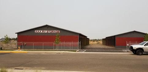 RV Storage Pole Barn Kit Redmond Oregon