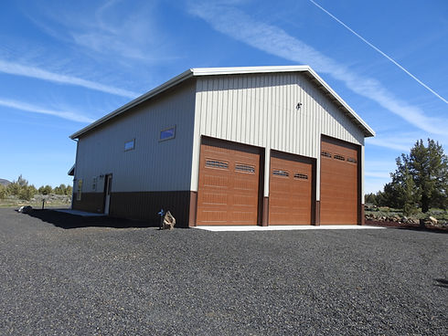 Pole Building in Redmond, Oregon Pole Barn