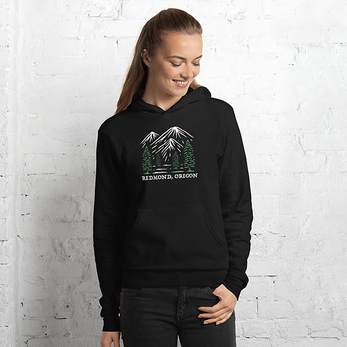 Redmond, Oregon Sunset - hoodie
