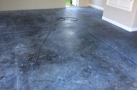 seal concrete garage floor bend oregon
