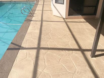repair concrete bend or