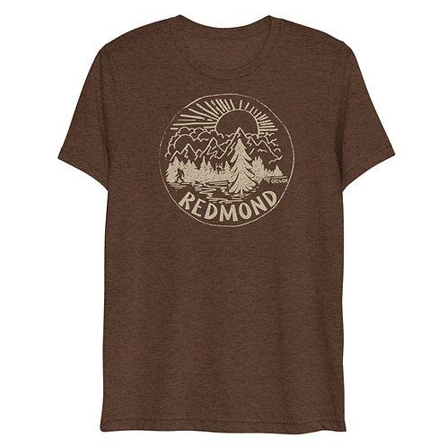Bigfoot in Redmond, Oregon - Short sleeve t-shirt