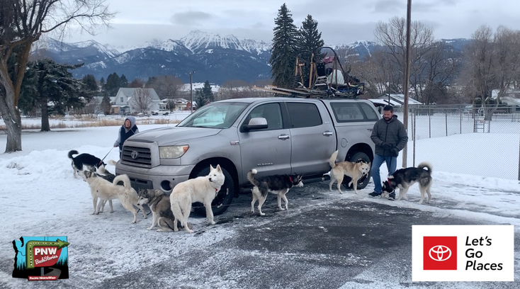 Eagle Cap Sled Dog Couple Hails From Bend Oregon