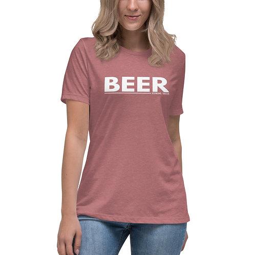 Beer Redmond - Women's Relaxed T-Shirt