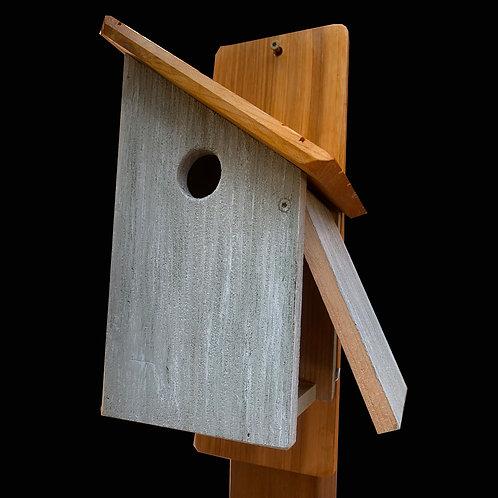 Halfway House Birdhouse - Green
