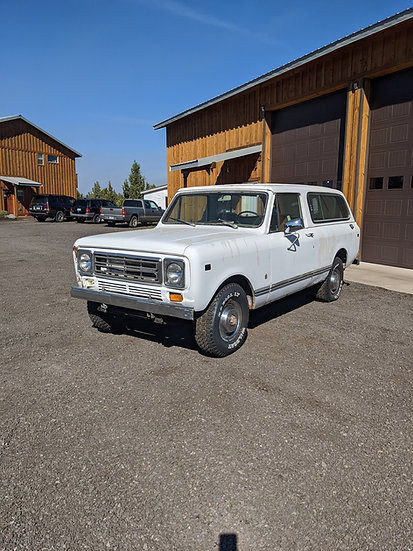 1976 International Scout II traveler 4wd
