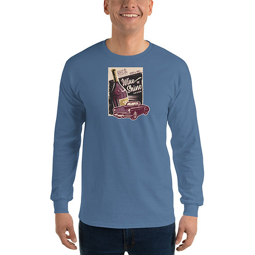 Wine 'n' Shine Car Show - June 5, 2021 - Men's Long Sleeve Shirt