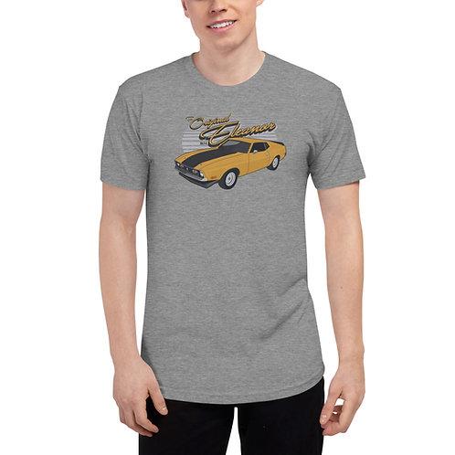 The Original Eleanor 1974 Gone in 60 Seconds Tri-Blend Track Shirt