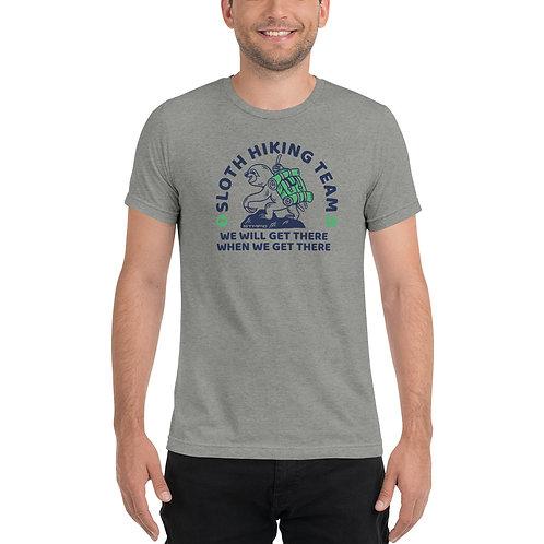 Sloth Hiking - Short sleeve t-shirt