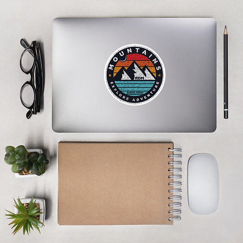 Mountain Circle RDM Oregon - Bubble-free stickers