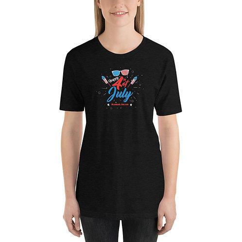 Happy 4th of July in Redmond, Oregon - Short-Sleeve Unisex T-Shirt