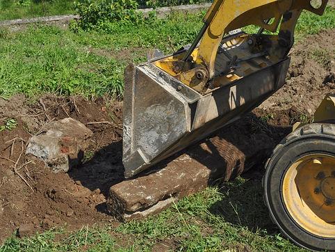 excavation services concrete removal redmond, oregon