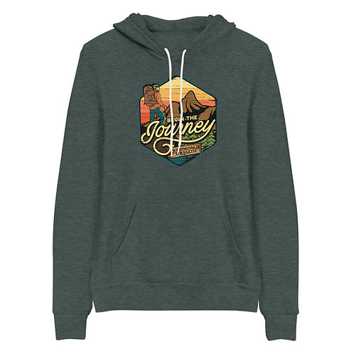Journey to Redmond Oregon  - Unisex hoodie