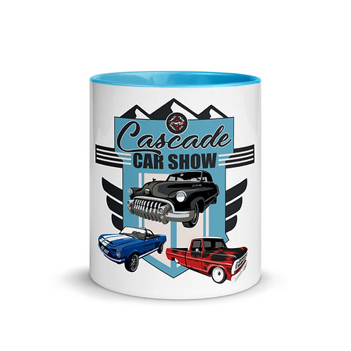 Cascade Car Show 2020 Mug with Color Inside