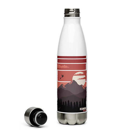 Redmond, Oregon Sunset - Stainless Steel Water Bottle