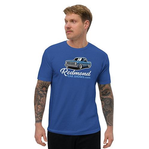 Redmond Car Shows - Chevy Truck - 1980s - Short Sleeve T-shirt