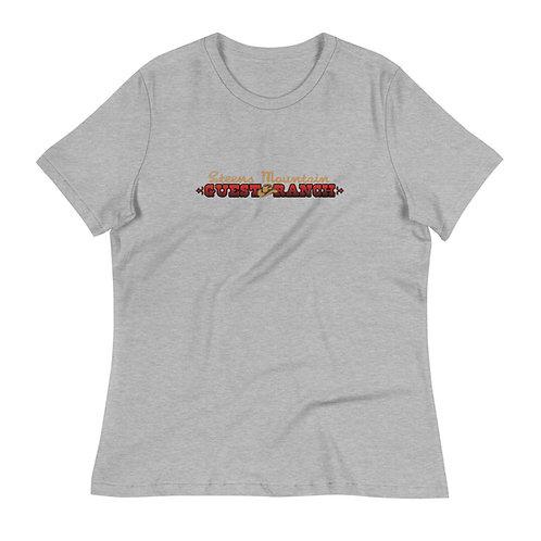 Steens Mountain Guest Ranch Logo - Women's Relaxed T-Shirt