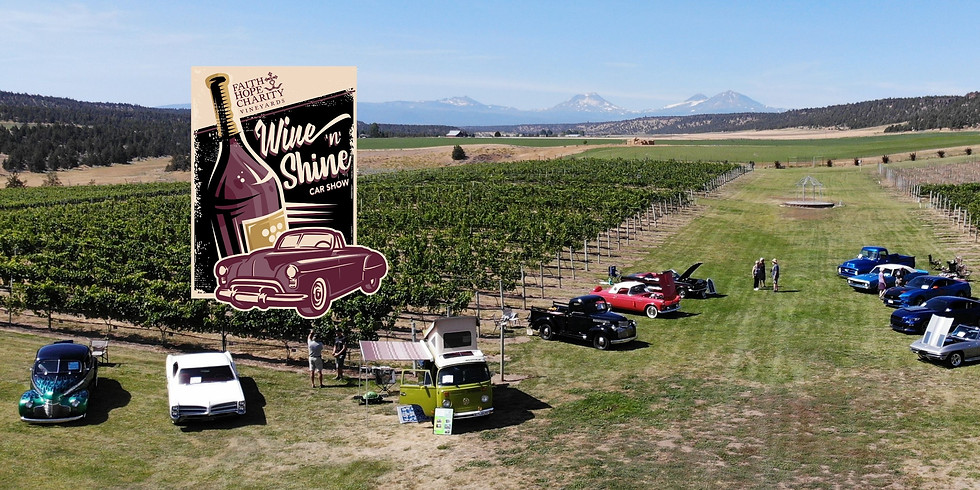 Wine 'n' Shine Car Show - June 5, 2021