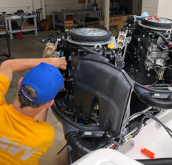 Repairs on Outboard Engine