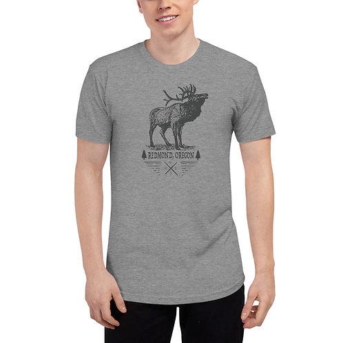Redmond Oregon Elk - Unisex Tri-Blend Track Shirt