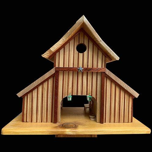 Barn Birdhouse / Pole Mount