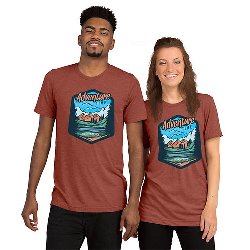 Adventure Time in Redmond Oregon. - Short sleeve t-shirt