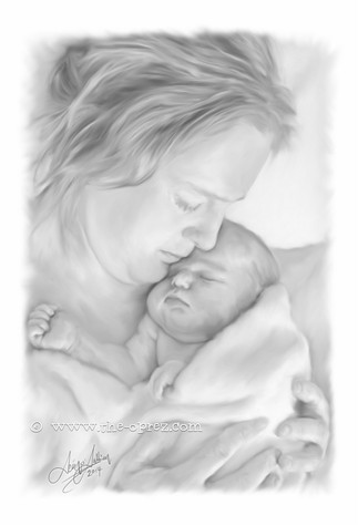 Mother and Child Portrait