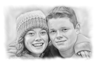 Girlfriend and Boyfriend Portrait