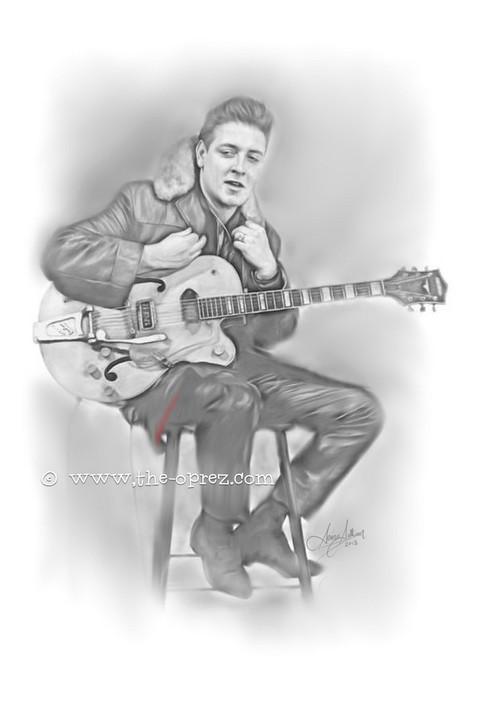 Eddie Cochran Portrait