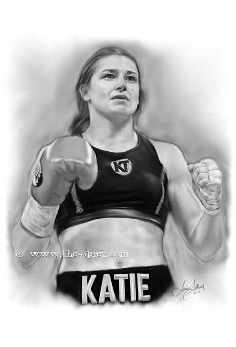 Katie Taylor Portrait