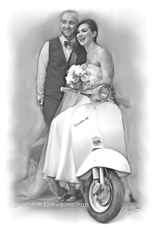 Married Couple Portrait