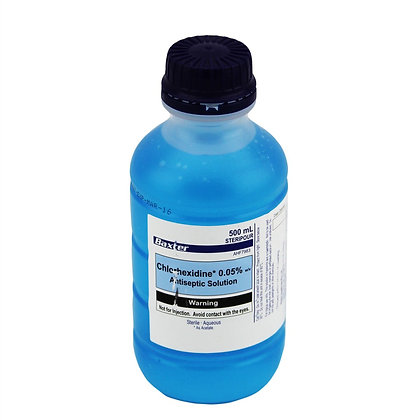 Baxter 0.05% Chlorohexidine 消毒藥水