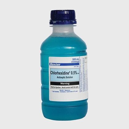 氯己定 0.05% 的抗凍溶液