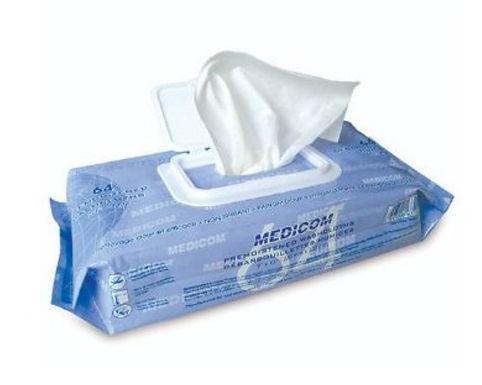 "Medicom 綿羊油濕紙巾 | 特大 9 X 13"" /64片裝"
