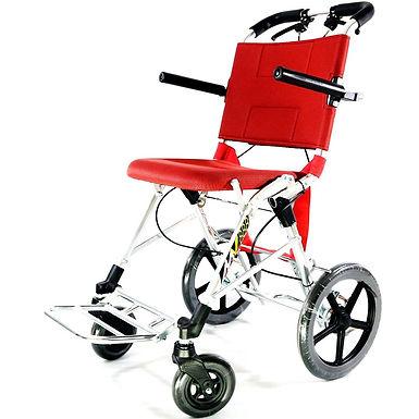 DY-A03L 輕便助推式旅行輪椅(黑藍色布面)
