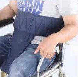 輪椅防滑安全帶T字型