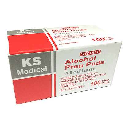 KS 70% Alcohol Swab 消毒酒精綿