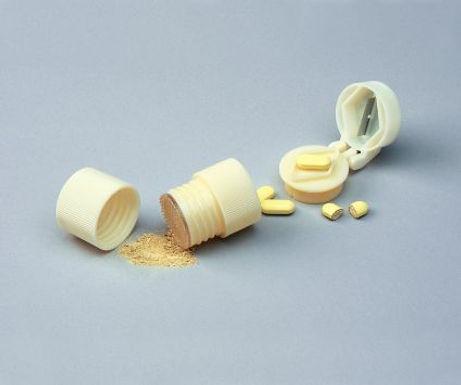 Tablet Splitter and Pill Crusher