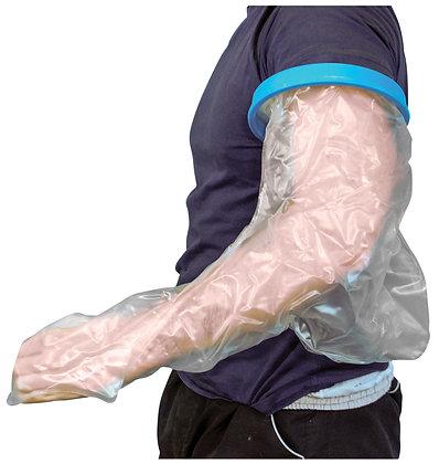 英國  沐浴防水保護手套(成人長臂款)