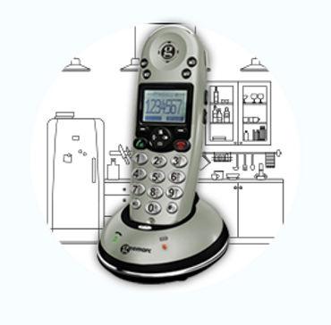 法國 Geemarc AMPLDECT350 無線擴音電話