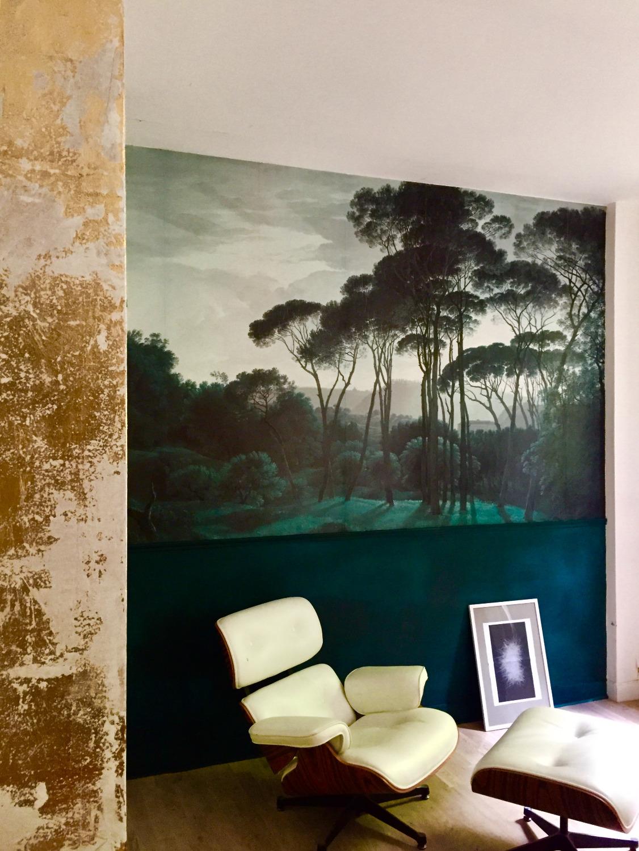 Patine murale - Panoramique Au fil des couleurs