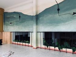 Fresque pour Boclaud Architecture
