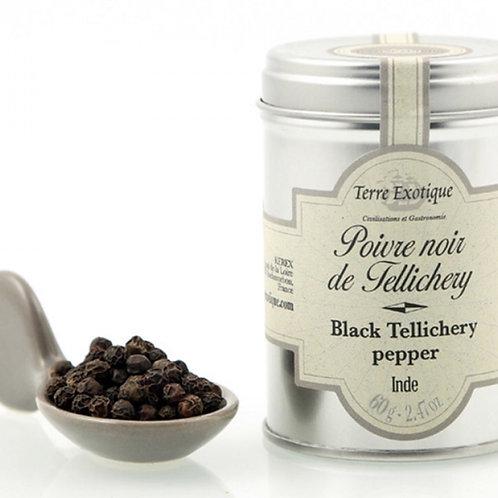 Poivre noir de Tellichery