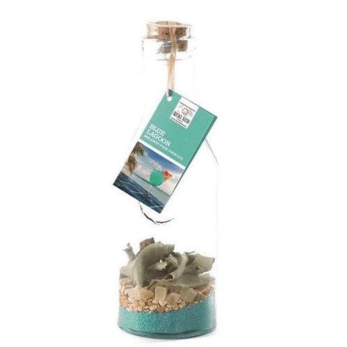 """Kit en carafe pour cocktail Blue Lagon """" Quai Sud"""""""
