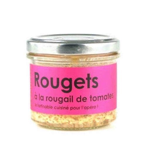 Rillettes de rougets à la rougail de tomates