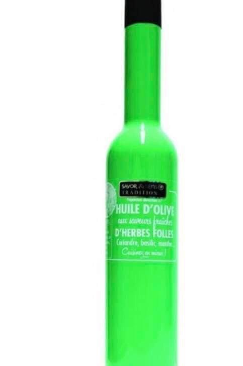 "Huile d'olive saveur herbes folles "" Savor & Sens """