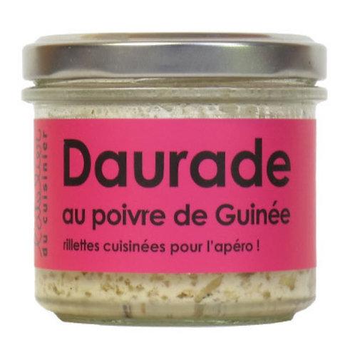 Rillettes de Daurade au poivre de Guinée