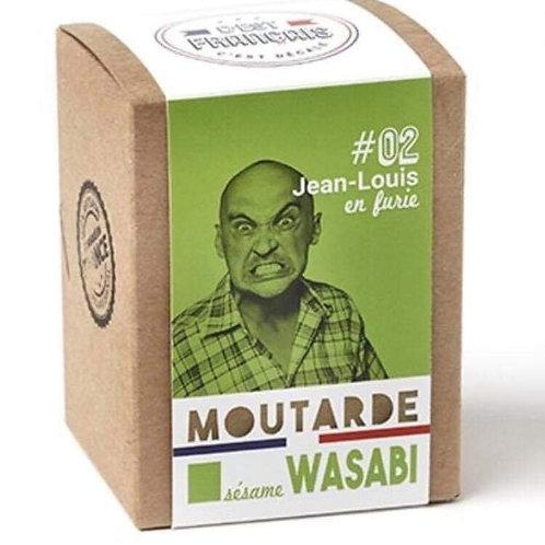 Moutarde sesame wasabi « C'est Français «