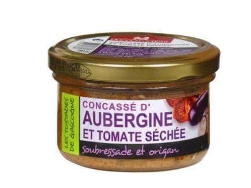 Concassé de champignon aubergine, cèpe