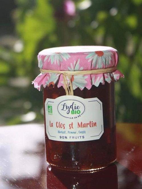 Confiture le clos St-martin du jardin de Lydie